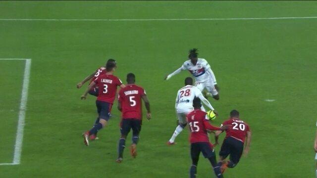 Os gols de Lille 2 x 2 Lyon pela 26ª rodada do Campeonato Francês