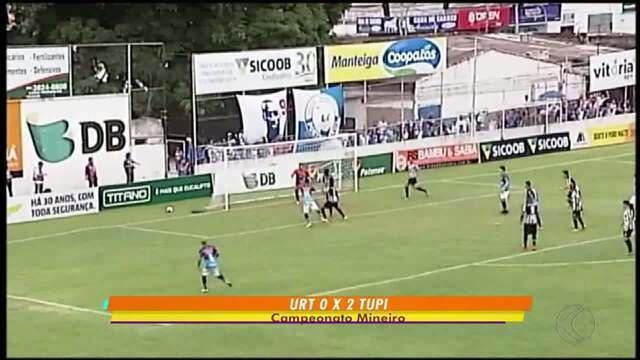 Tupi domina URT e vence por 2 a 0 em Patos de Minas