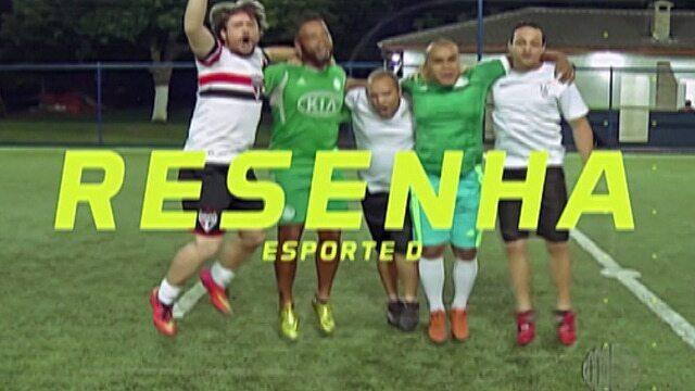 Resenha: Garotinhos comentam sobre o empate do Palmeiras e o jogo do Corinthians nesta 2ª