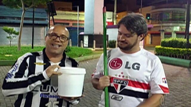 Resenha: Santos vence o São Paulo no Morumbi, e Fred Rezende paga aposta