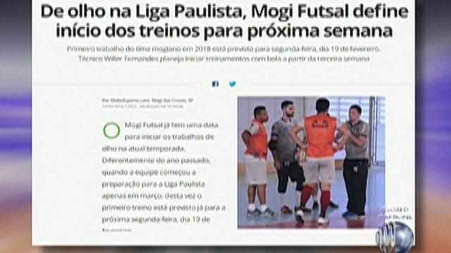 Mogi Futsal conhece a tabela da Liga Paulista; Estreia será contra Araraquara