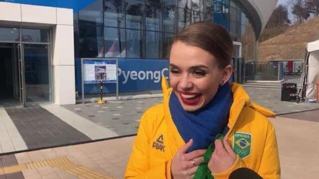 Isadora Williams será porta-bandeira do Brasil na Cerimônia de Encerramento de PyeongChang