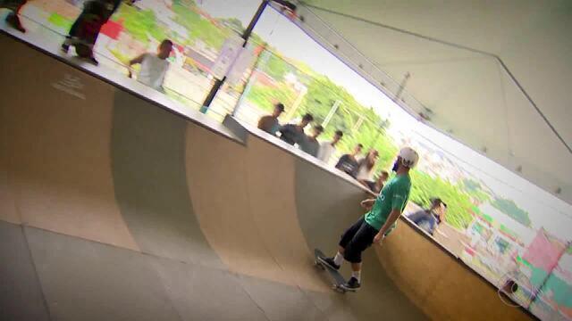 Mineirinho marca presença na Academia do Skate em Juiz de Fora
