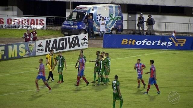 Em jogo com 4 gols, União ABC e Novo empatam no segundo confronto entre as equipes