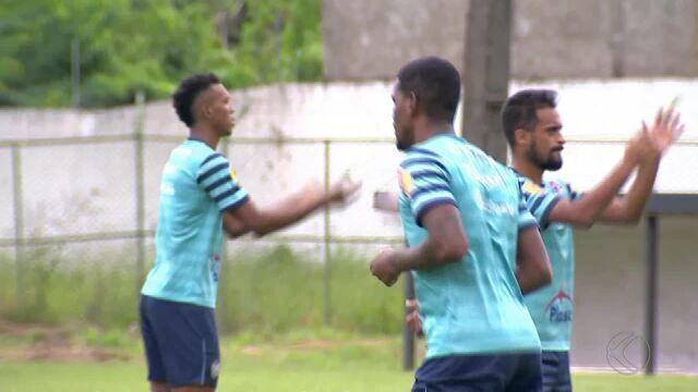 Tupi encerra preparação para enfrentar o Atlético-MG