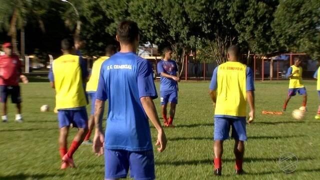 Comercial reforça treino para Campeonato Sul-Mato-Grossense