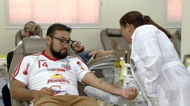 Torcida dos times de MS se unem para doar sangue