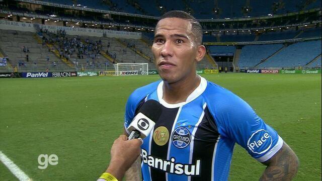 Jael comenta o primeiro gol pelo Grêmio