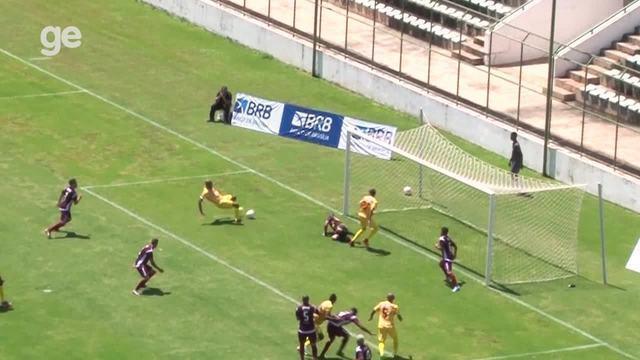 Os gols de Santa Maria 0 x 4 Brasiliense pelo Campeonato Brasiliense 2018