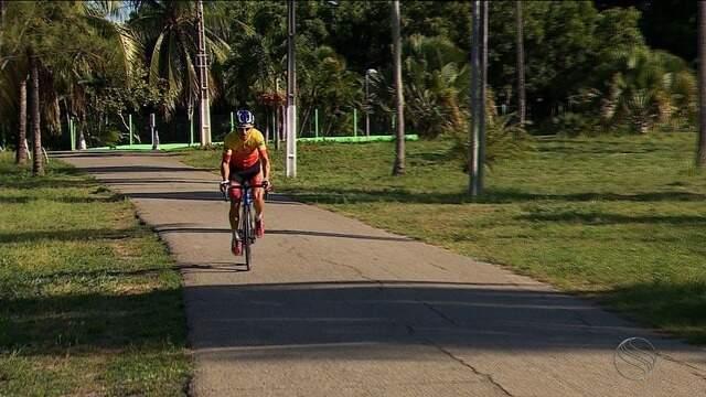 Circuito Ciclístico: conheça a história de um atleta que sonhava ser jogador de futebol