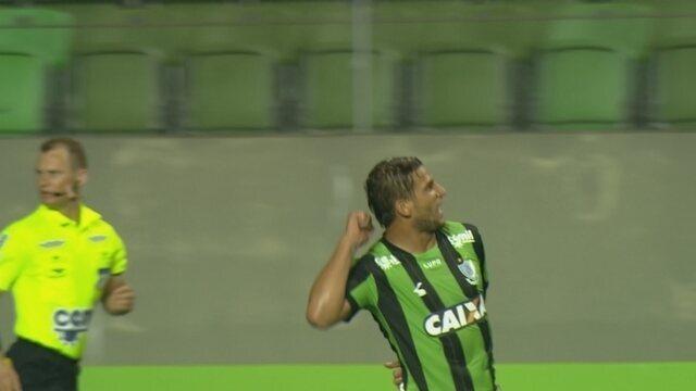 Veja o gol da vitória do América-MG sobre o Boa Esporte pelo Campeonato Mineiro