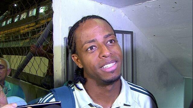 Autor de um dos gols, Keno fala após vitória do Palmeiras sobre o Novorizontino