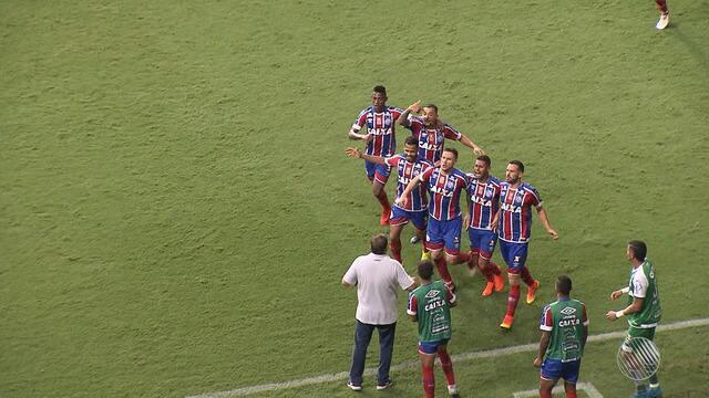 Bahia goleia o Altos do Piauí por 5 a 3 pela Copa do Nordeste