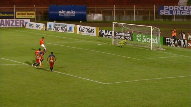 Confira os gols de Toledo 1x1 Atlético-PR, pela quinta rodada da Taça Caio Júnior