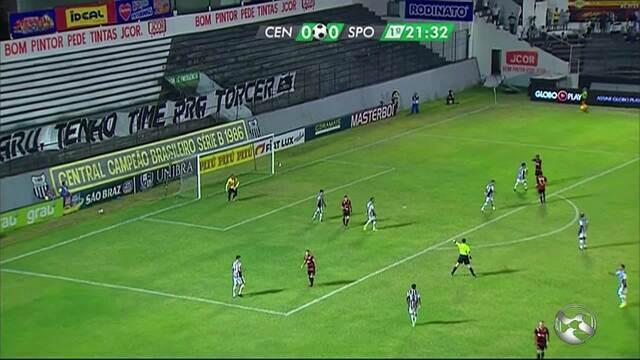 Central bate o Sport e está na final do Pernambucano