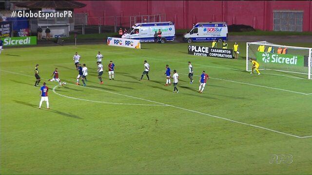 Paraná Clube derrota Maringá, mas os dois seguem na Taça Caio Júnior