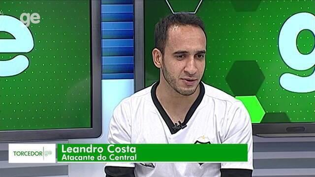 Torcedor GE recebe Leandro Costa