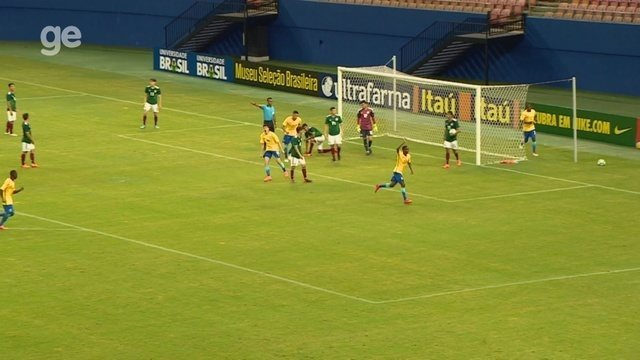 Veja os gols de Brasil 1 x 1 México, em jogo-treino na Arena da Amazônia