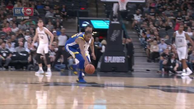 Melhores momentos de Golden State Warriors 110 x 97 San Antonio Spurs pela NBA