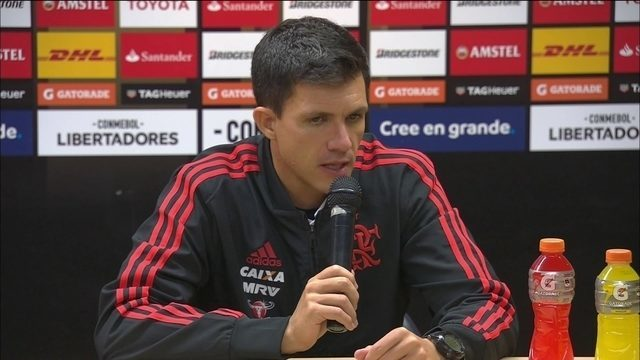 Maurício Barbieri comenta empate do Flamengo com o Santa Fé