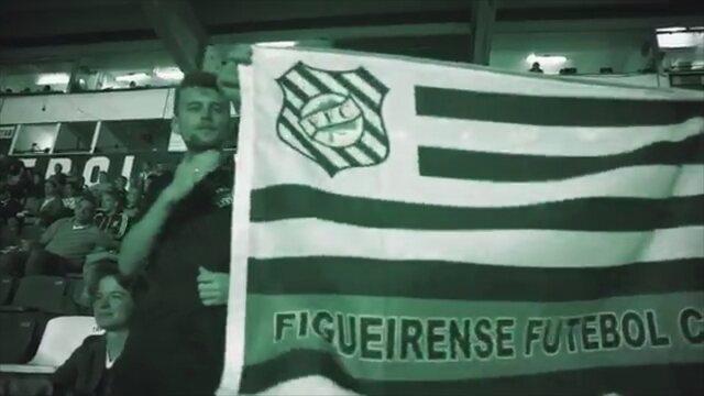 Figueira divulga vídeo e convoca torcida para jogo diante do Boa