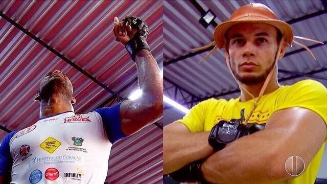 Lutadores Godzilla e Felipinho miram agora no UFC