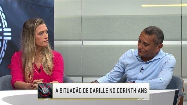 Comentaristas discutem se Fábio Carille fica ou não no Corinthians