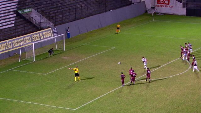 Gols de Central 3 x 0 Jacuipense