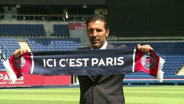 Aos 40 anos, Buffon chega ao Paris Saint Germain