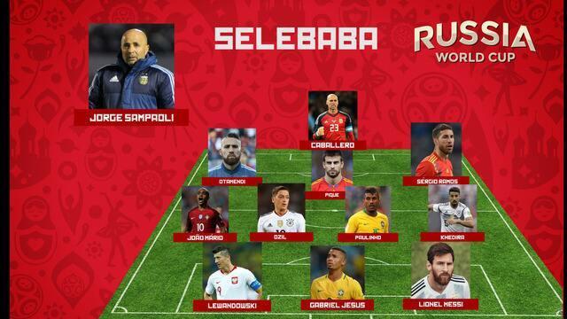 Selebaba: confira a seleção dos jogadores que decepcionaram na Copa 2018