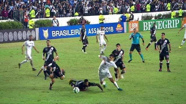 Os gols de Vasco 1 x 1 Fluminense pela 13ª rodada do Brasileirão 2018