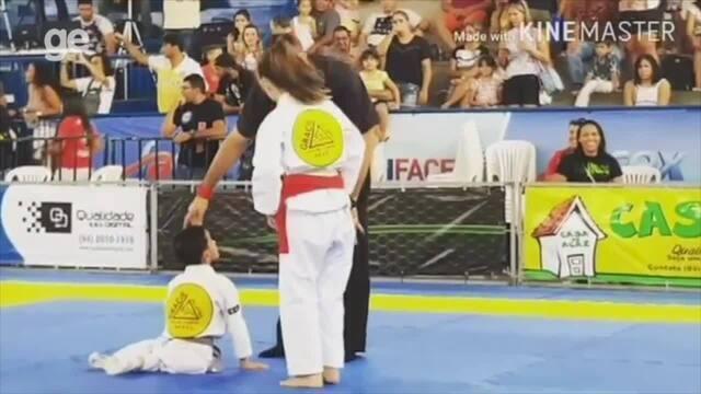 Cadeirante, garoto de seis anos resgata confiança com treinos de jiu-jitsu em Natal
