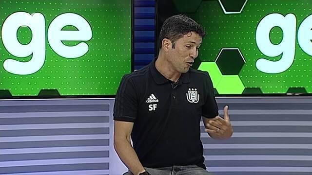 Torcedor GE recebe Sérgio Figueira, treinador das categorias de base do Anderlecht-BEL