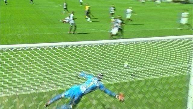 Os gols de Atlético-MG 3 x 1 Santos pela 18ª rodada do Brasileirão