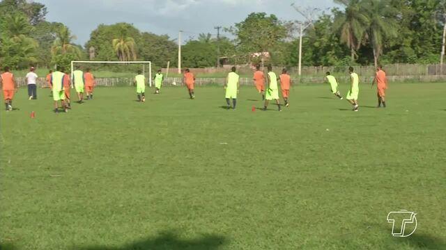 Elenco do São Francisco intensifica treinos para estreia na Segundinha do 'Parazão'