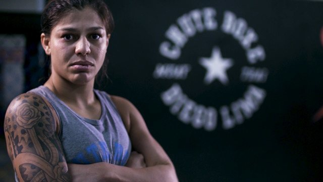 Perfil de Mayra Bueno para o Contender Brasil
