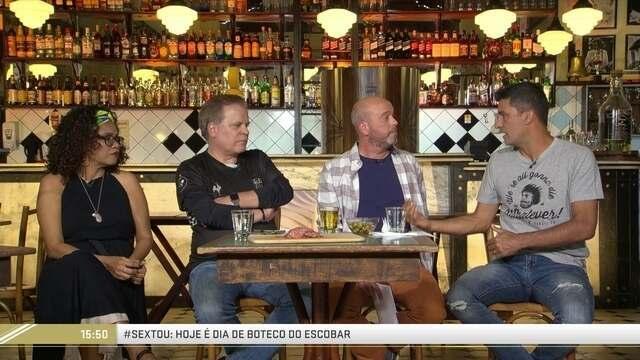 Boteco do Escobar recebe Chico Pinheiro, Sandro Meira Ricci e Teresa Cristina
