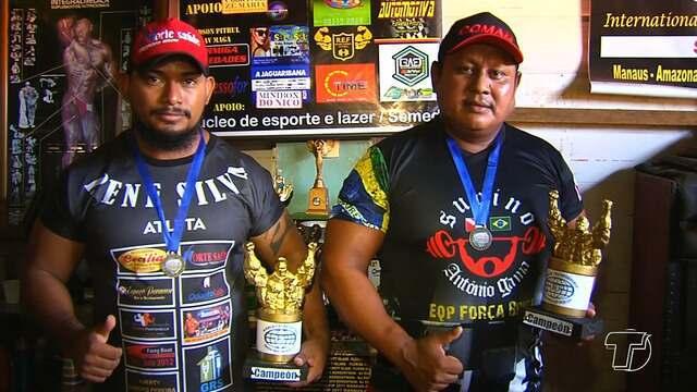 Atletas representam o Pará em competição de levantamento de peso no Uruguai