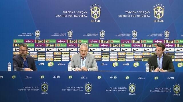 """Tite fala sobre próximos amistosos: """"Contra a Argentina é um campeonato à parte"""""""