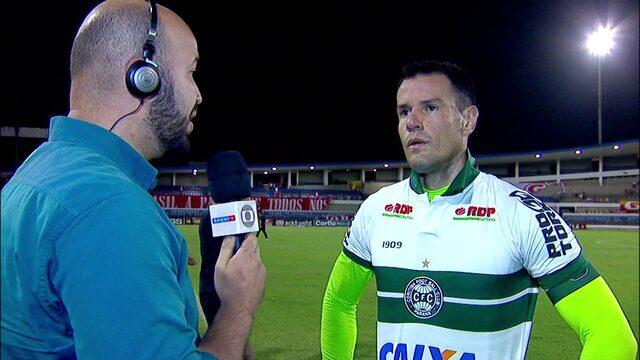 Wilson diz que Coritiba não podia desperdiçar pontos e quer vitórias em casa