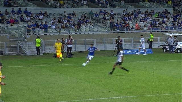 Os gols de Cruzeiro 2 x 1 Santos pela 26ª rodada do Campeonato Brasileiro 2018
