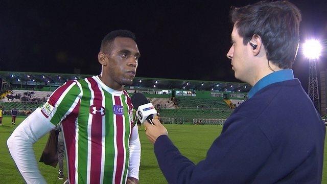 Digão diz que o Fluminense quebrou um tabu ao vencer a Chape na Arena Condá