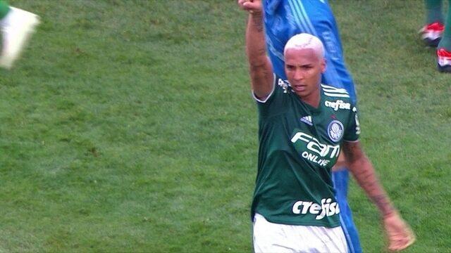 Os gols de Palmeiras 2 x 0 Grêmio pela 29ª rodada do Brasileirão 2018