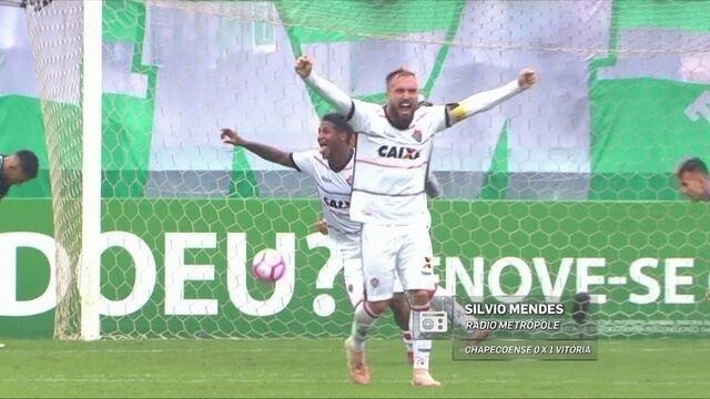 Redação AM: Silvio Mendes narra o gol de Lucas Fernandes do Vitória