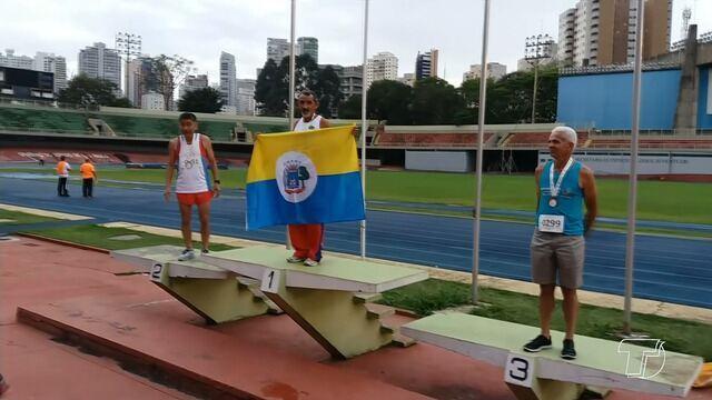 Santareno de 62 anos conquista ouro em competição de corrida em São Paulo