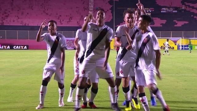 Os gols de Vasco 3 x 1 Vitória pela Copa do Brasil Sub-17