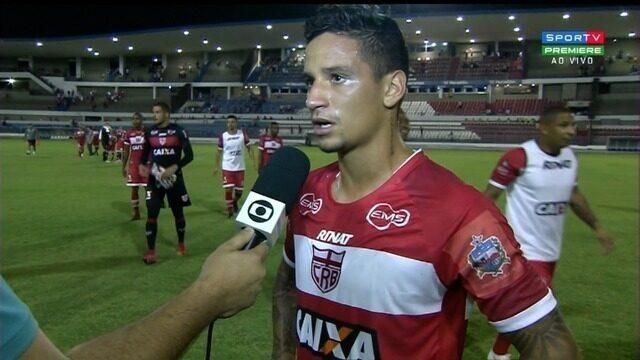 Luiz Otávio valoriza vitória do CRB sobre o Goiás, no Rei Pelé