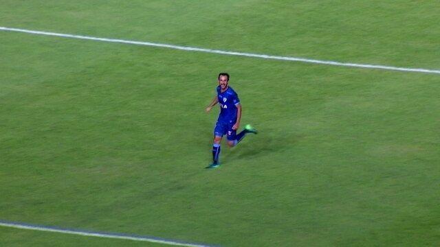 Gol do Londrina! Thiago Ribeiro faz grande jogada e vira o jogo, aos 44' do 2º tempo