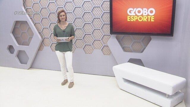 Confira o Globo Esporte RO de segunda-feira, 22