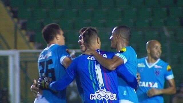 Os gols de Figueirense 2 x 3 Paysandu pela 37ª rodada da Série B